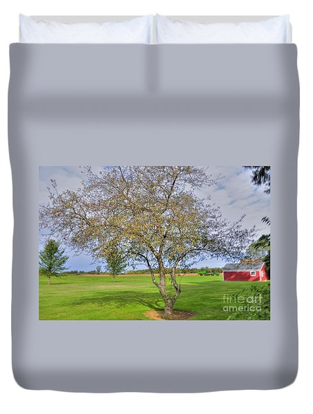 Apple Tree Duvet Cover by Kathleen Struckle
