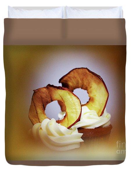 Apple View Duvet Cover by Afrodita Ellerman