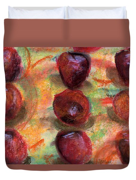 Apples R Us Duvet Cover