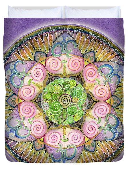 Appreciation Mandala Duvet Cover