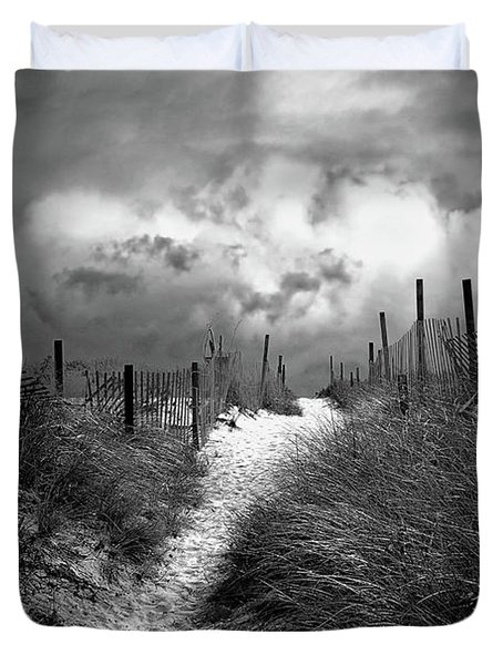 Approaching Storm Duvet Cover