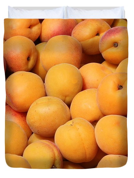 Apricots Duvet Cover by Carol Groenen
