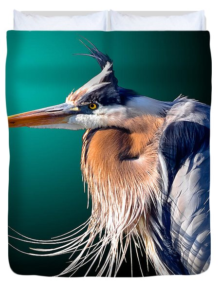 April Breeze Duvet Cover