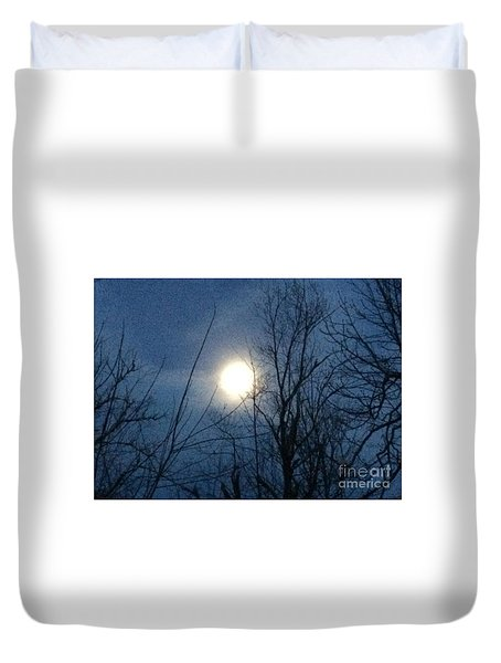April Moonlight Duvet Cover