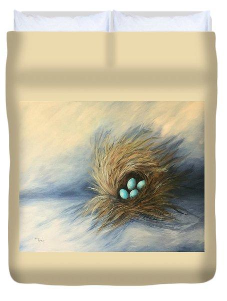 April Nest Duvet Cover by Torrie Smiley