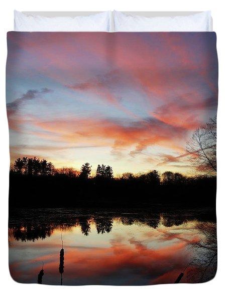 April Sky 23 Duvet Cover