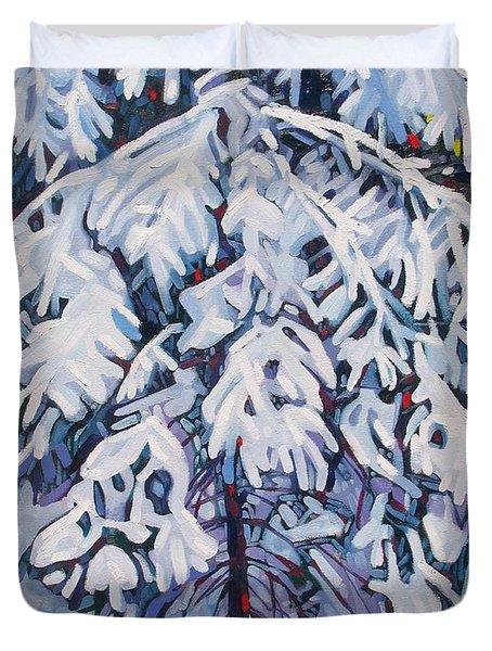April Snow Duvet Cover