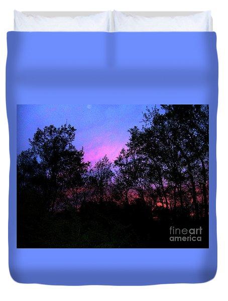 April Sunset Duvet Cover
