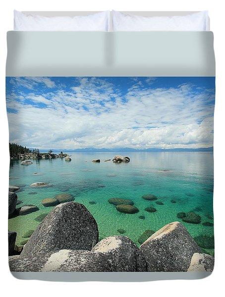Aqua Heaven Duvet Cover