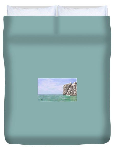 Aqua Sea Duvet Cover