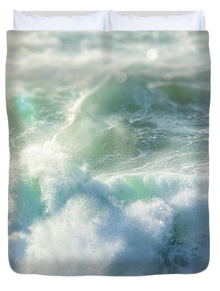 Aqua Surge Duvet Cover