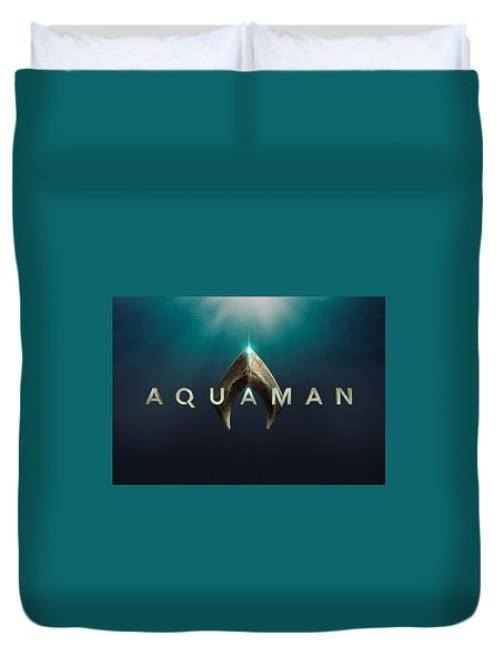 Aquaman Duvet Cover