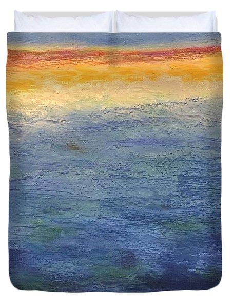 Aquamarine Duvet Cover