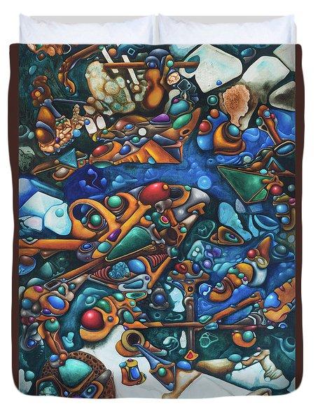 Aquariumalgam Duvet Cover