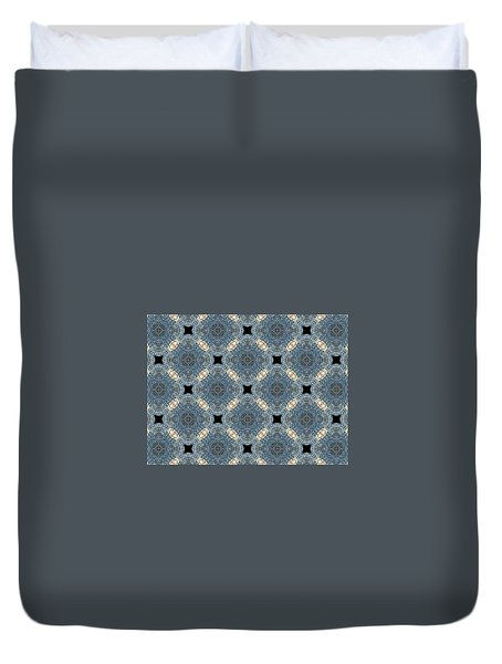 Aquatic Drift Duvet Cover