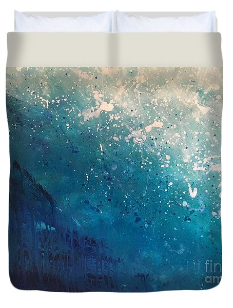 Aquatic Life Duvet Cover