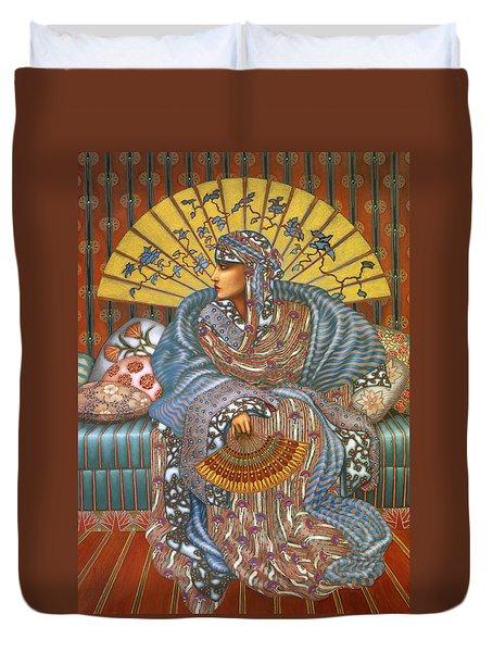 Arabella Duvet Cover by Jane Whiting Chrzanoska