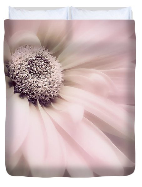 Duvet Cover featuring the photograph Arabesque In Ballet Pink by Darlene Kwiatkowski