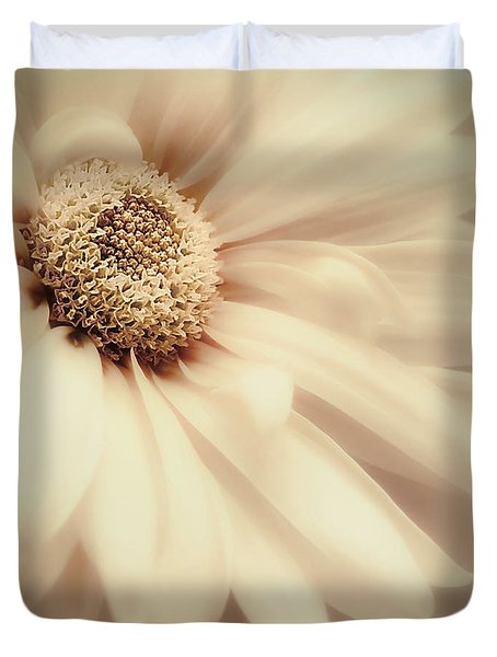 Duvet Cover featuring the photograph Arabesque In Butternut by Darlene Kwiatkowski