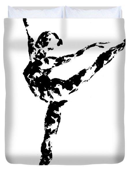 Arabesque - Transparent Background Duvet Cover