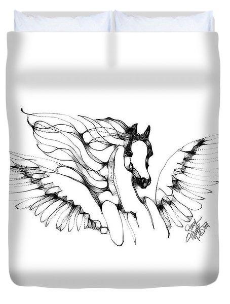 Arabian Angel Duvet Cover