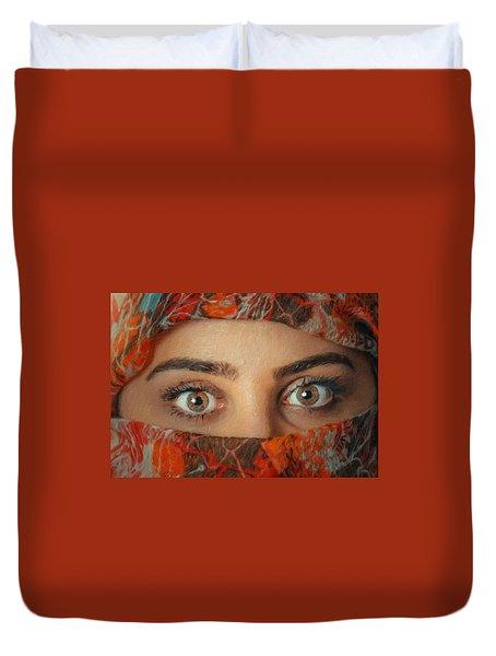 Arabian Beauty Duvet Cover