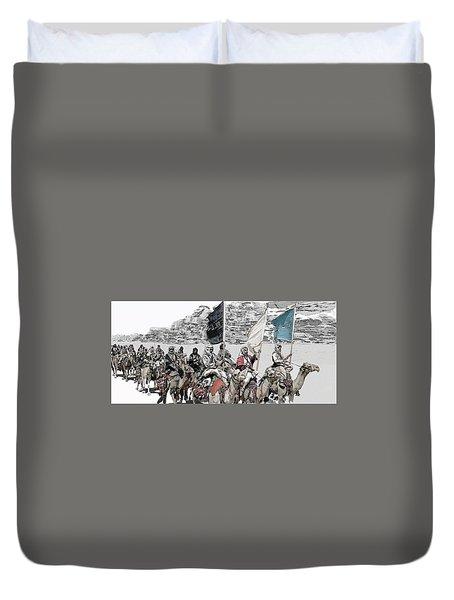 Arabian Cavalry Duvet Cover