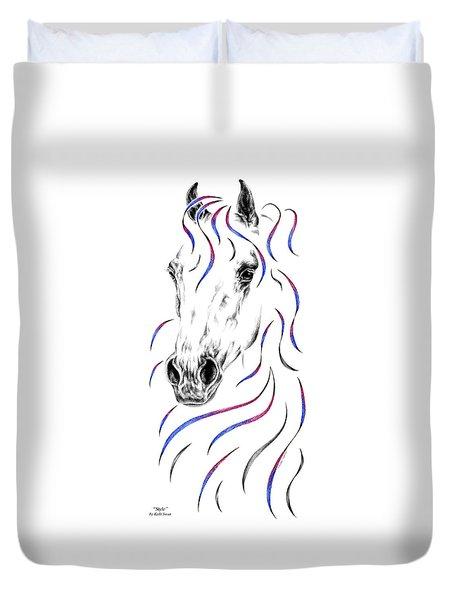 Arabian Horse Style Duvet Cover