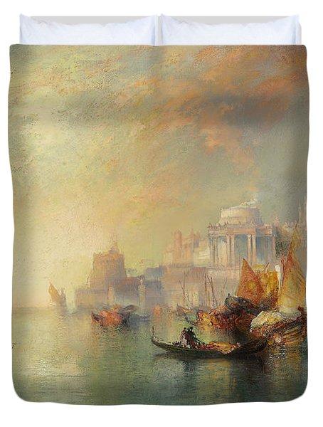 Arabian Nights Fantasy Duvet Cover