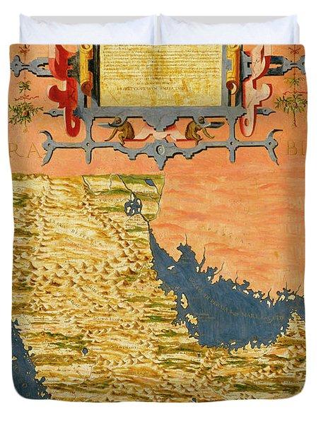 Arabian Penisula Duvet Cover