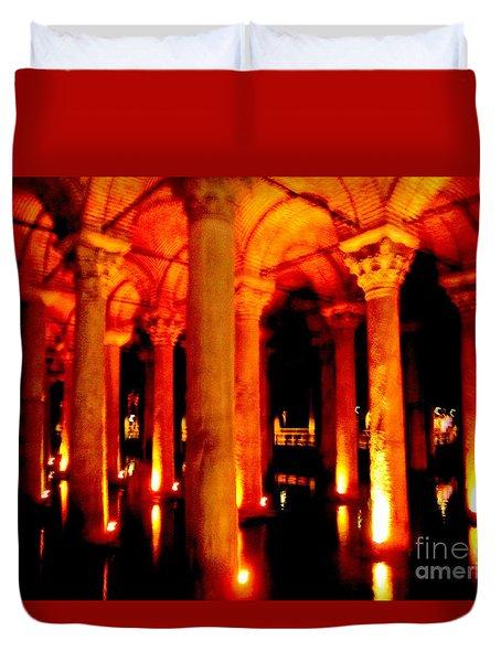 Arabic Nocturn A Duvet Cover