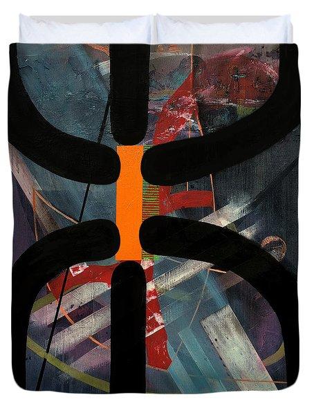 Arachnophobia Duvet Cover by Antonio Ortiz