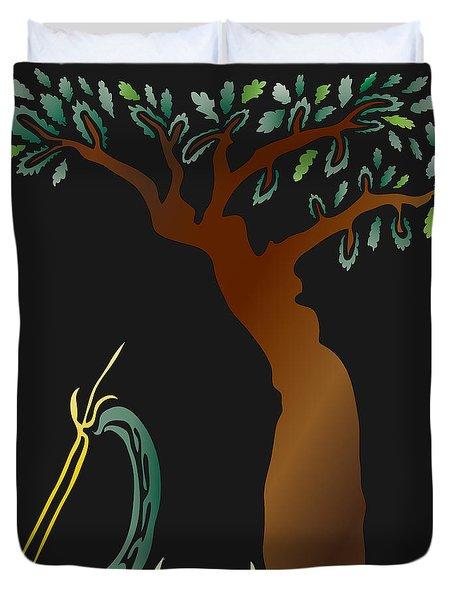 Arbor Scene Duvet Cover
