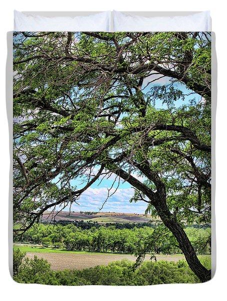 Arbor Vista Duvet Cover by Sylvia Thornton