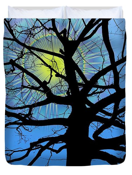 Arboreal Sun Duvet Cover by Tim Allen