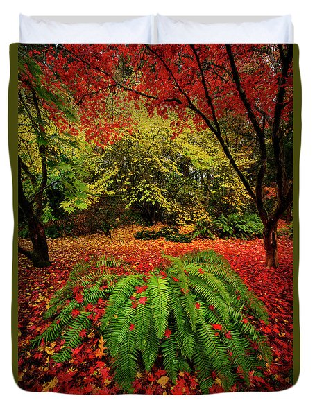 Arboretum Primary Colors Duvet Cover