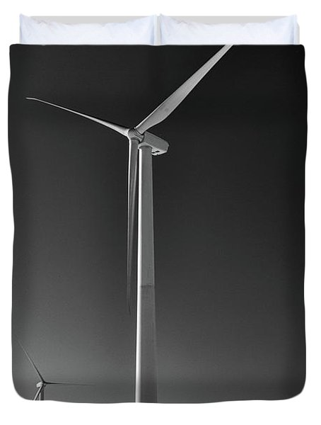 Arcade Wind Turbines 6557 Duvet Cover