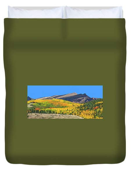 Arcas Is The King Of Arcadia, The Home Of God Pan. Duvet Cover