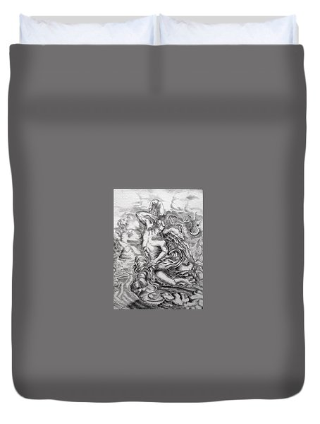 Arch Angel Duvet Cover by Gary Renegar