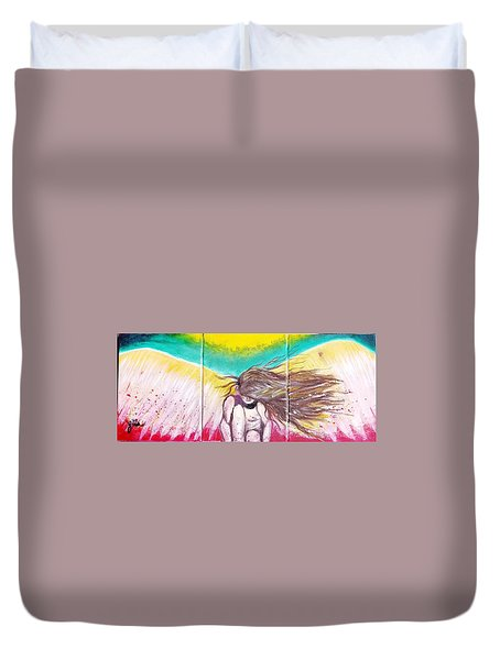 Arch Angel Michael Duvet Cover