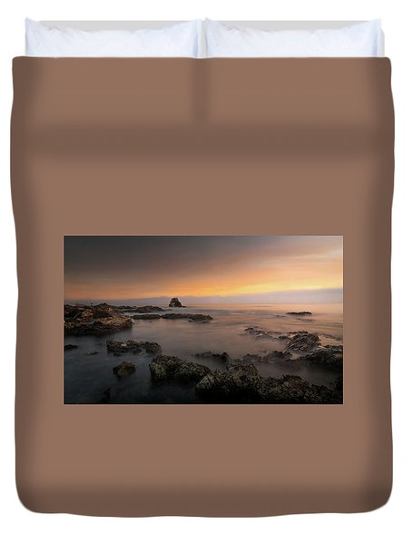 Arch Rock At Little Corona Duvet Cover