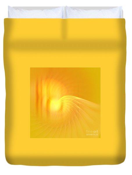 Archangel Jofiel Duvet Cover