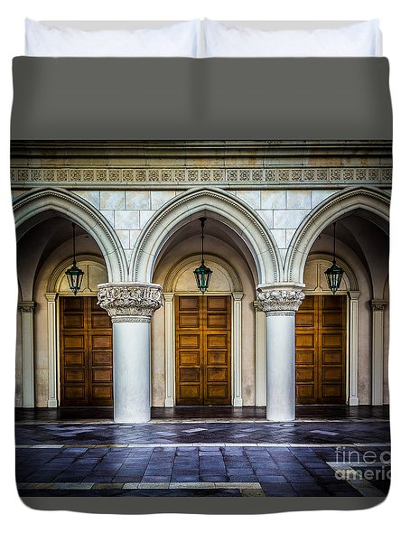 Arched Door Duvet Cover