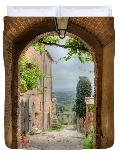 Arched View Duvet Cover