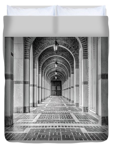 Arched Walkway Duvet Cover
