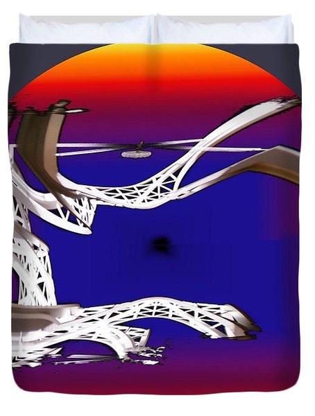 Arches 2 Duvet Cover by Tim Allen