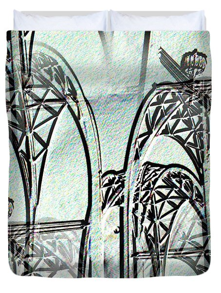 Arches 4 Duvet Cover by Tim Allen