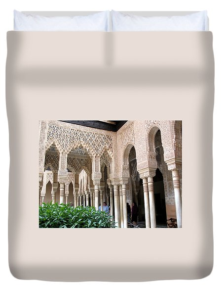 Arches And Columns Granada Duvet Cover
