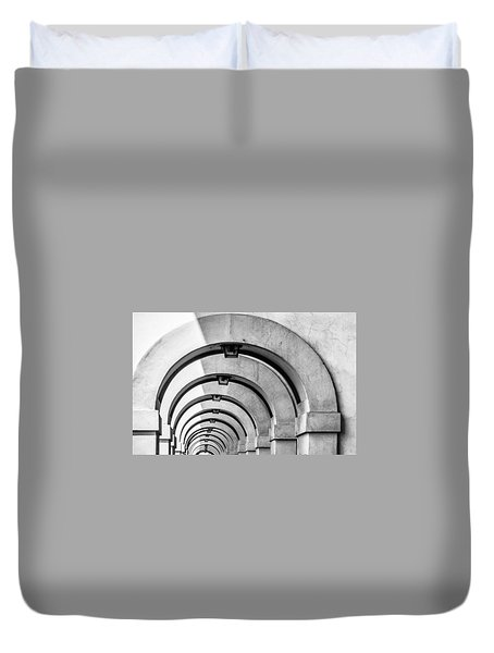 Arches At The Arno Duvet Cover