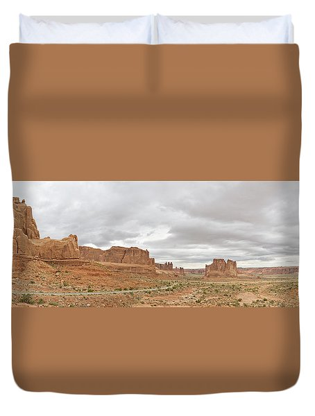 Arches Entry Duvet Cover